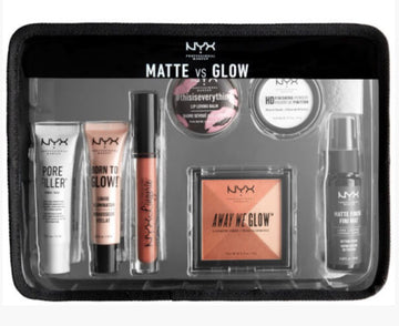 NYX MATTE VS GLOW JET SET TRAVEL KIT
