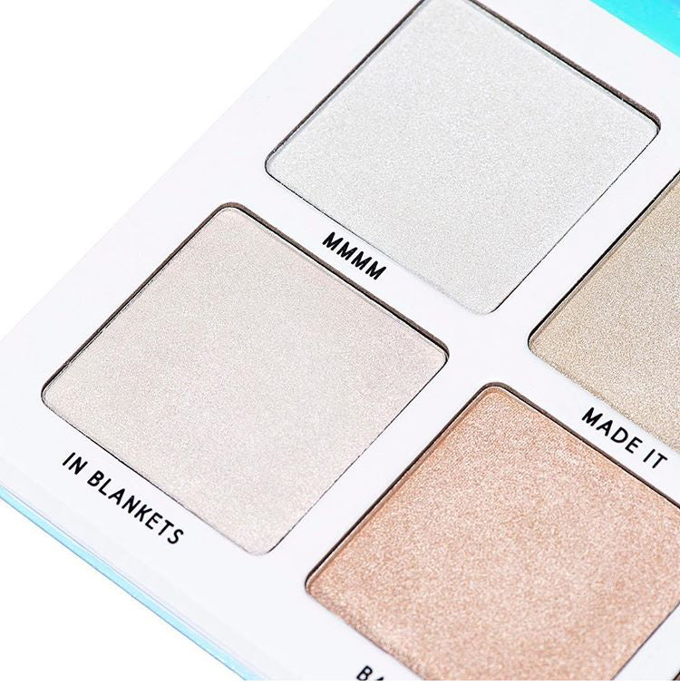 BPERFECT MMMMITCHELL SUBZERO HIGHLIGHTER PALETTE
