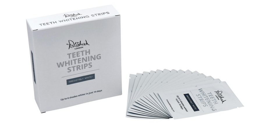 POLISHED TEETH WHITENING STRIPS