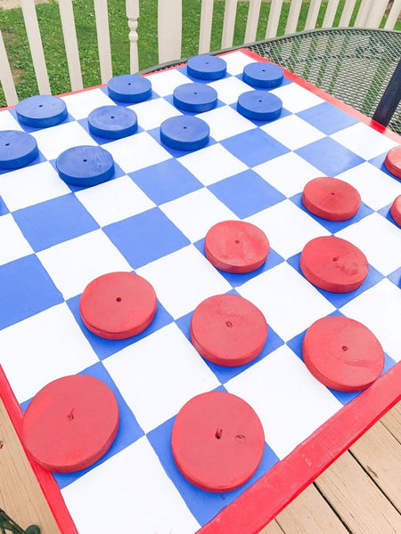 Giant Checker Set