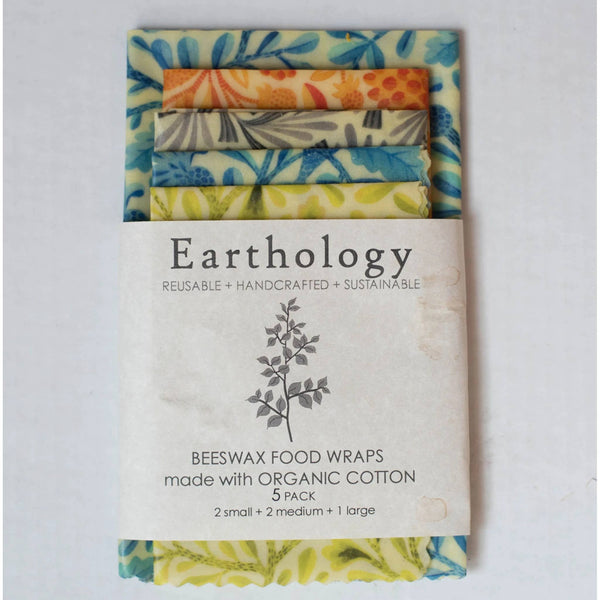 5 Pack Beeswax Wraps