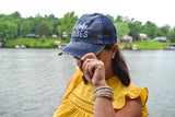 Lake Vibes Distressed Hat