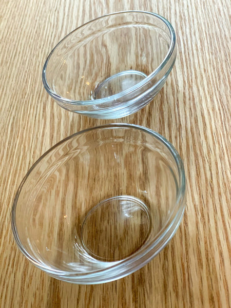 Small Glass Serving Bowls
