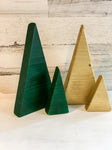 Chunky Wooden Christmas Trees