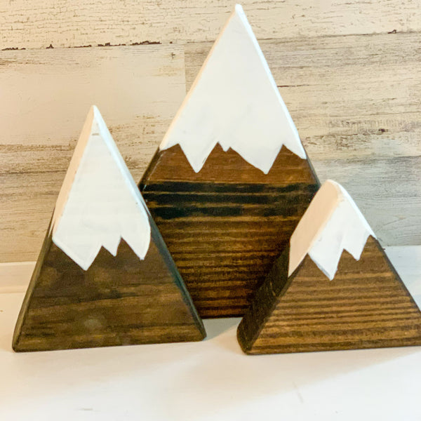 Mountain Set of 3 pieces