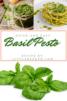 Basil Pesto Recipe by Littlebroken.com