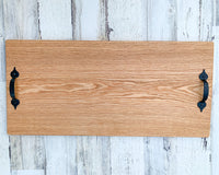 Handcrafted Large Oak Charcuterie Board