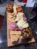 "Handcrafted 24"" Charcuterie Board with Personalization"