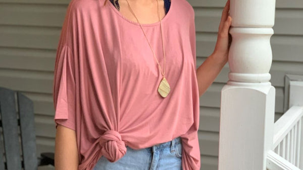 Tell It To My Heart Blush Top