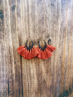 Sweetheart Fringe Earrings