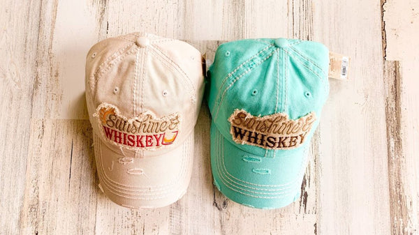 Sunshine & Whiskey Hats