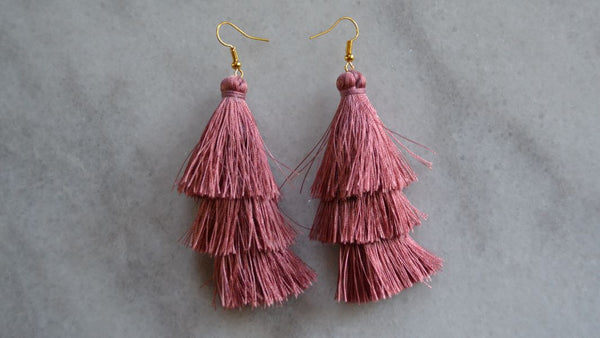 Crazy Little Thing Called Love Tassel Earrings