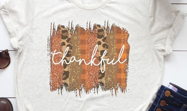 Colorful Thankful Tee