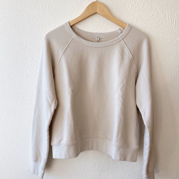 Everyday Sweatshirt, Natural