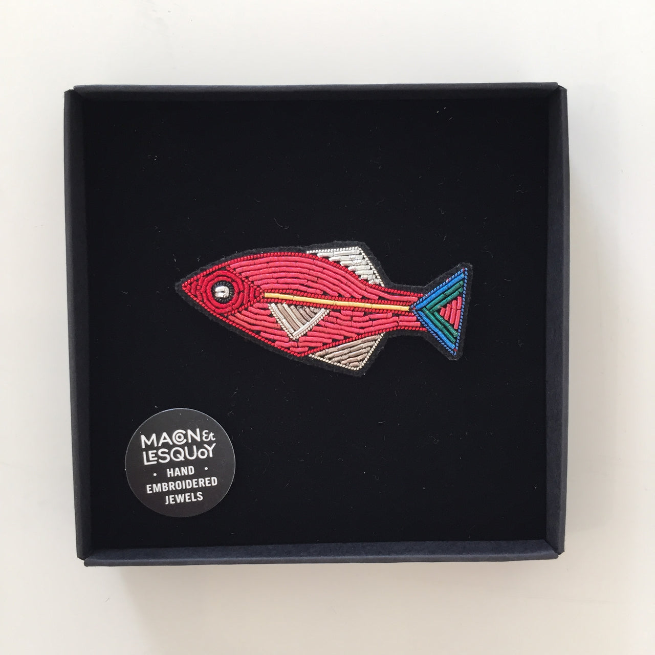 Salmon Fish Pin