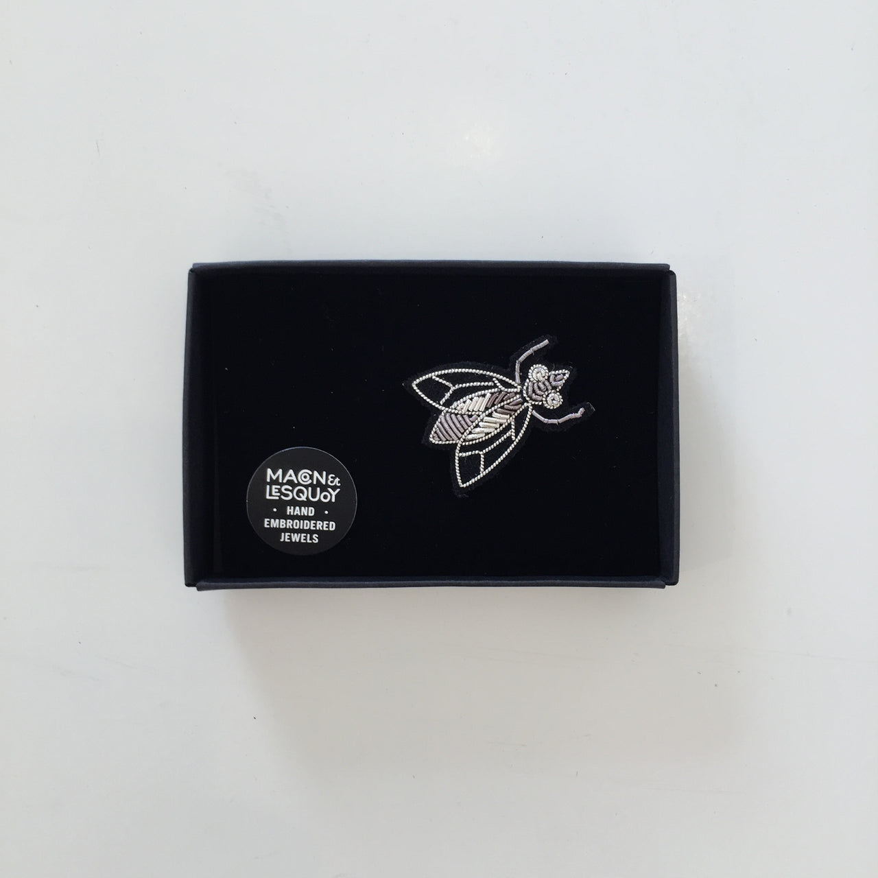 Silver Fly Pin