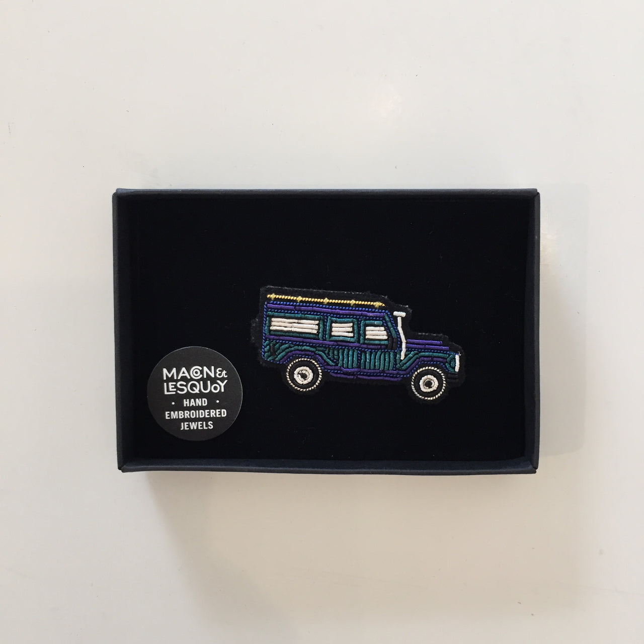 Blue Jeep Pin