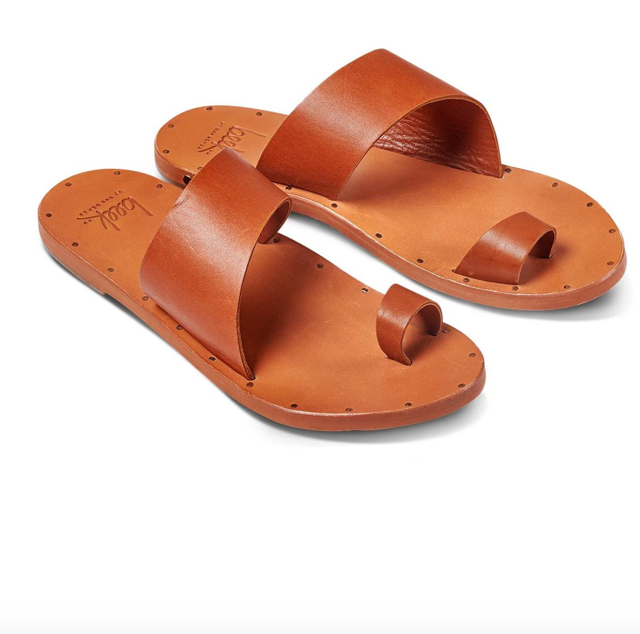 Finch Toe Ring Sandals, Tan