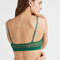 High Cut Bralette, Evergreen
