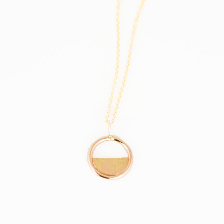 Gold Reflect Necklace
