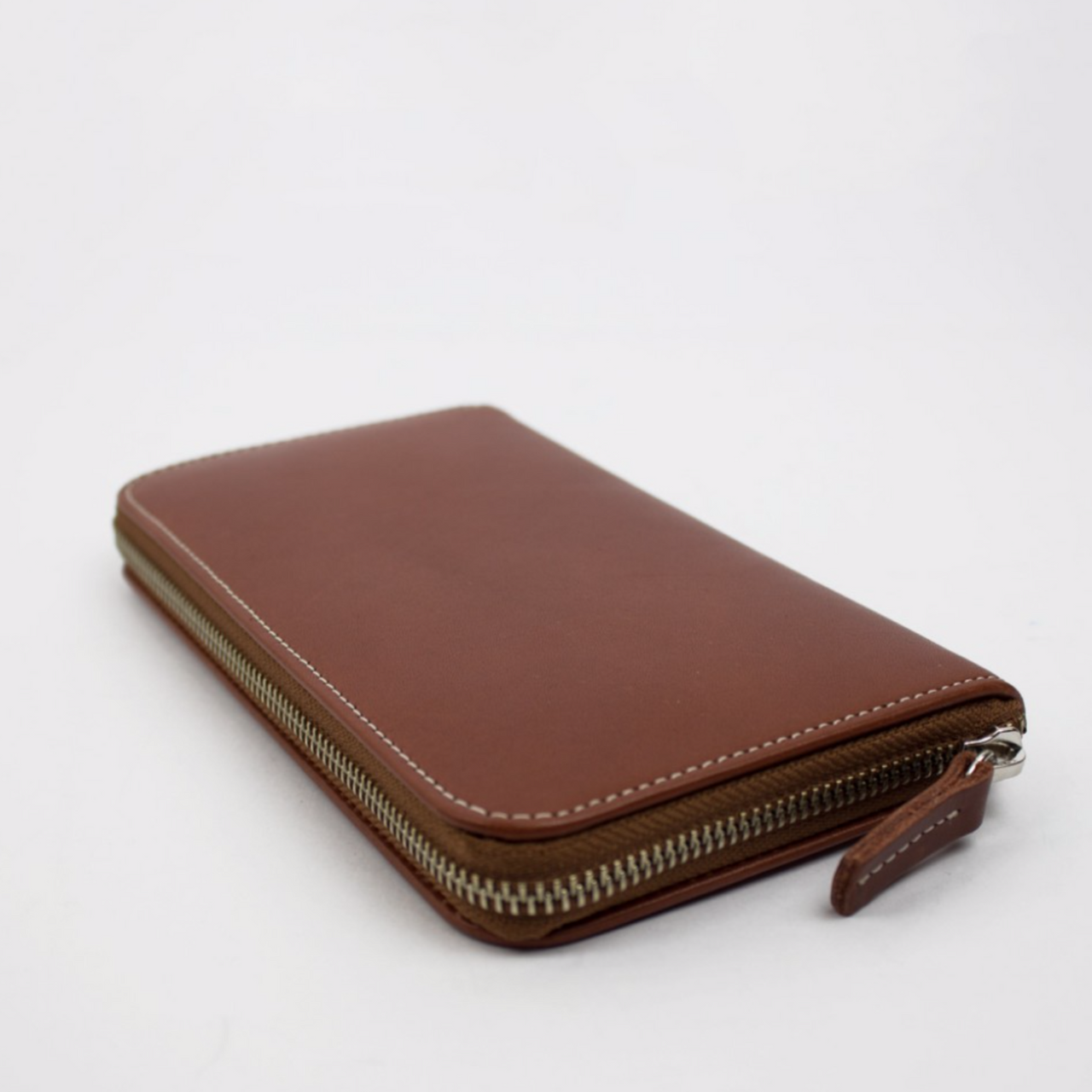 Zip Wallet, Chestnut