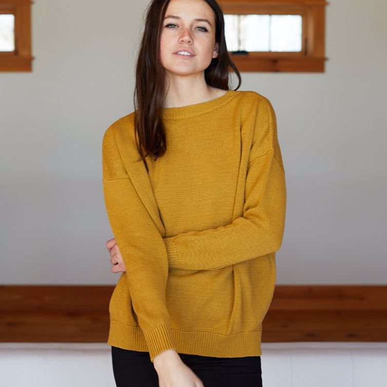 Carolyn Sweater, Marigold