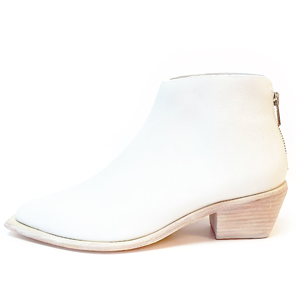 West Bootie, White