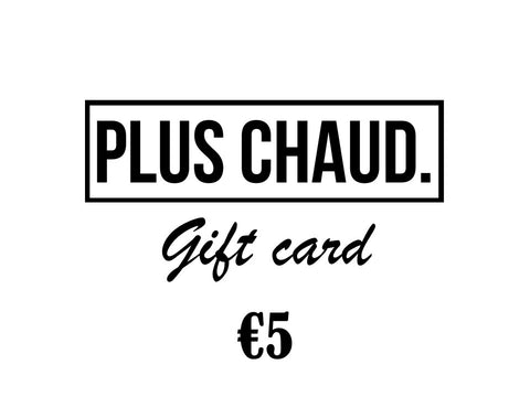 Gift Card €5