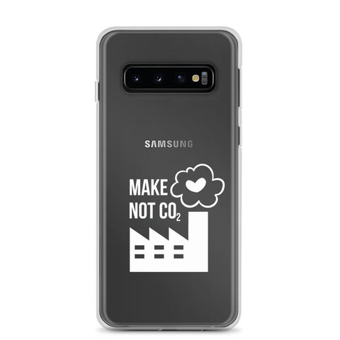 Make love, not CO2 - Wit [SAMSUNG CASE]