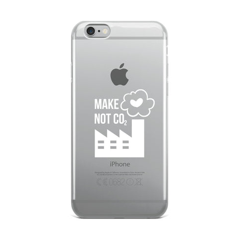 Make love, not CO2 - Wit [IPHONE CASE]