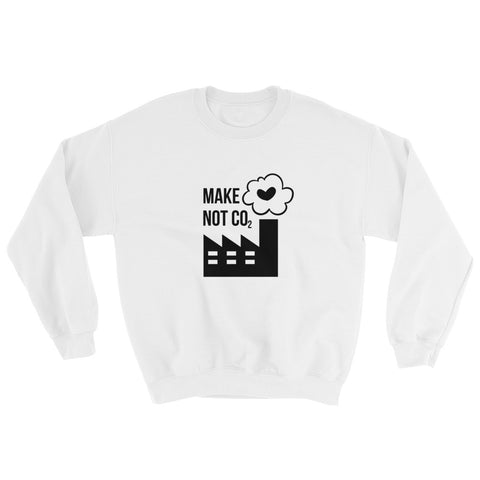 Make love, not CO2 [UNISEX SWEATER]