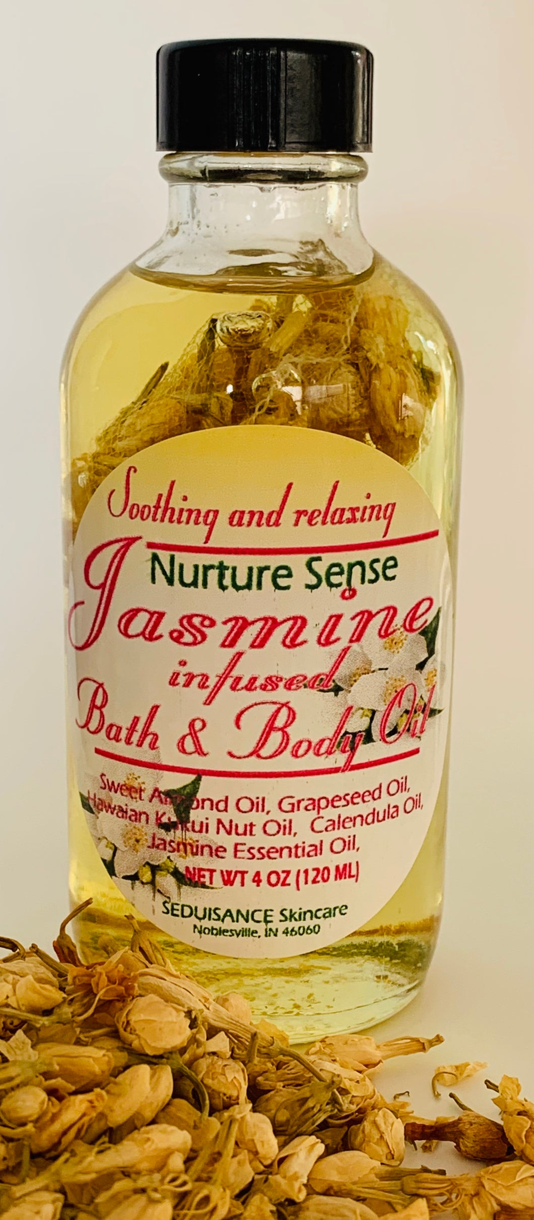 Jasmine Infused Bath & Body Oil
