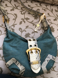 consignment bag - GUESS denim