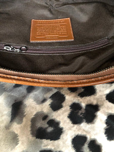 consignment bag - Coach canvas and leather