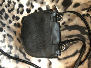 consignment bag - Coach black cross body