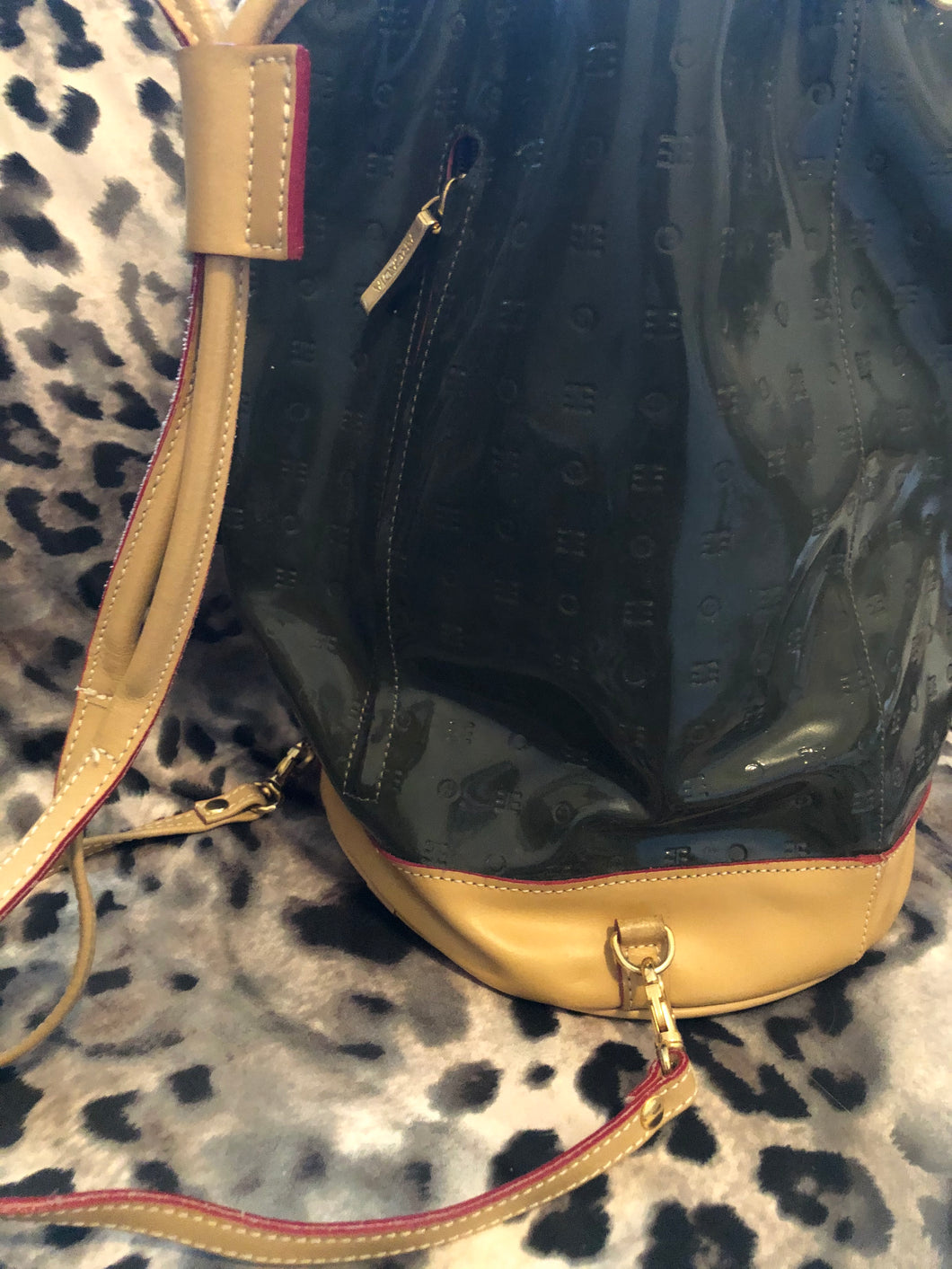 consignment bag - Arcadia, olive