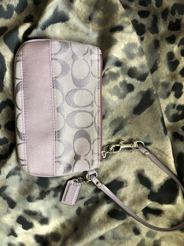 consignment bag - Coach violet