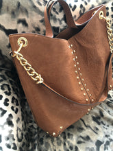 Load image into Gallery viewer, consignment bag - Michael Kors, large brown tote