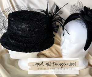 vintage hats - fresh new look