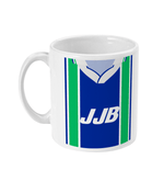 Wigan 1995-98 Home Shirt Retro Football Mug