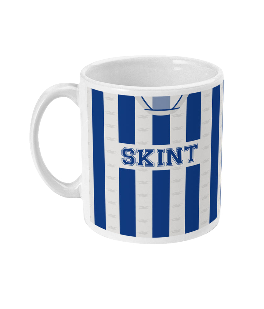 Brighton 2002/04 Home Shirt Retro Football Mug