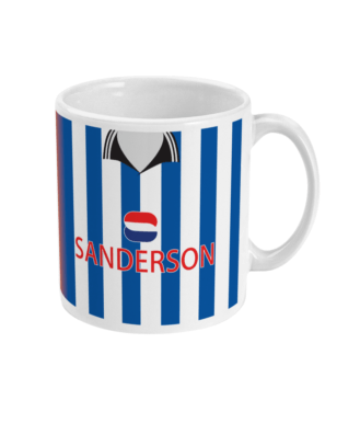 Sheffield Wednesday 1997/98 Home & Away Mug