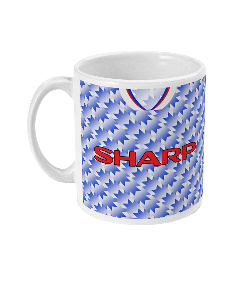 Man United 1990-92 Third Shirt Retro Football Mug