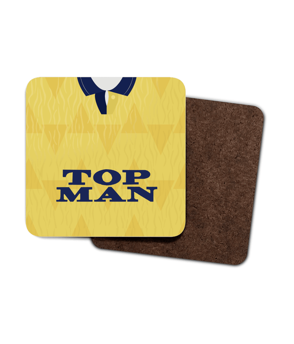 Leeds United 1989-91 Away Shirt Coaster Pack