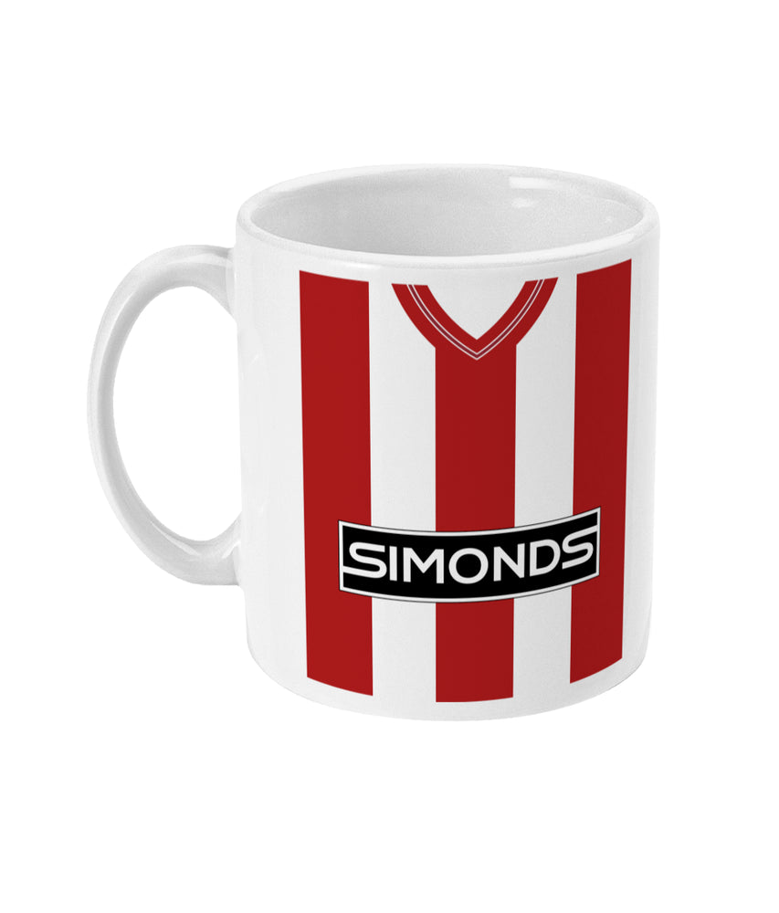 Sheffield United Home Kit 1983-85 Mug