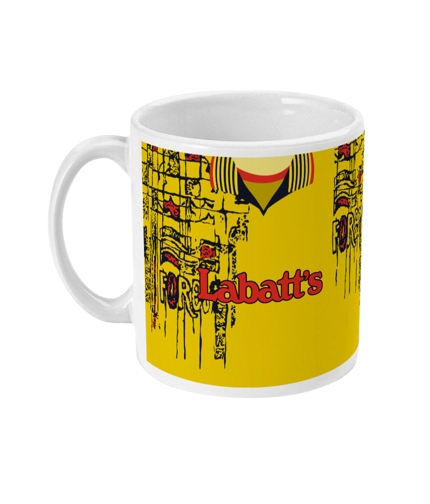 Nottingham Forest 1995-97 Away Shirt Mug