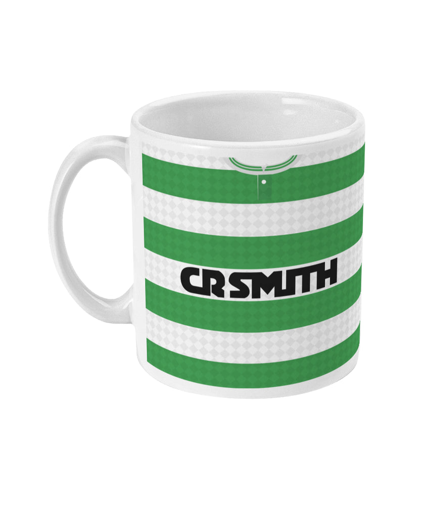 Celtic 1987-89 Home Shirt Retro Football Mug