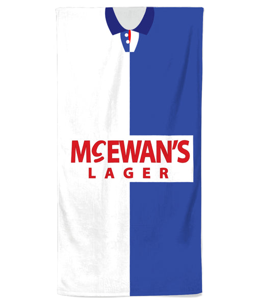 Blackburn Rovers 1994-95 Home Beach Towel