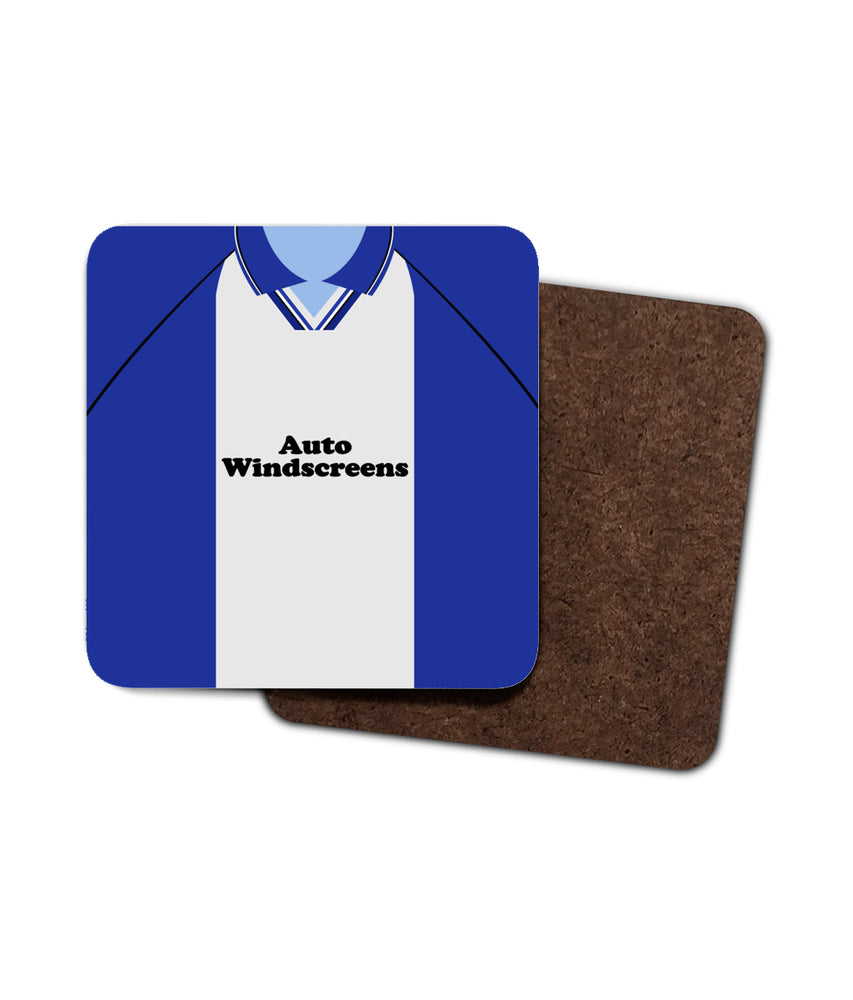 Birmingham City 1997-98 Home Shirt Retro Football Coaster