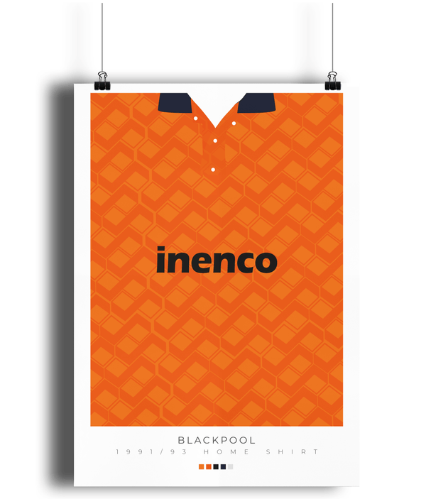 Blackpool FC poster